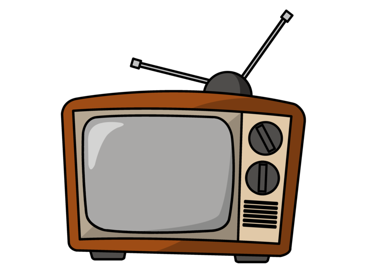 Watching start talking talk. Clipart tv tv set