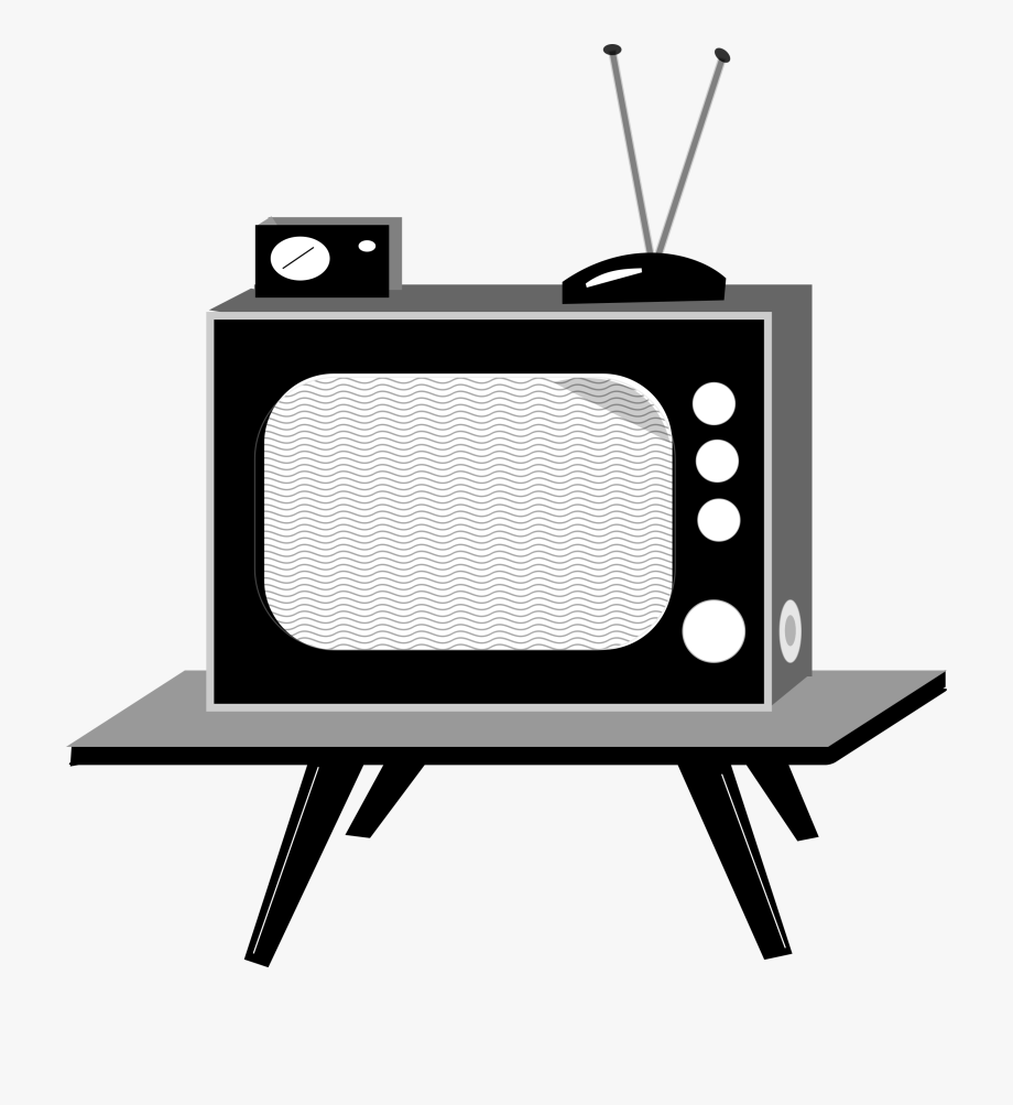 Clipart tv tv set. Television transparent background