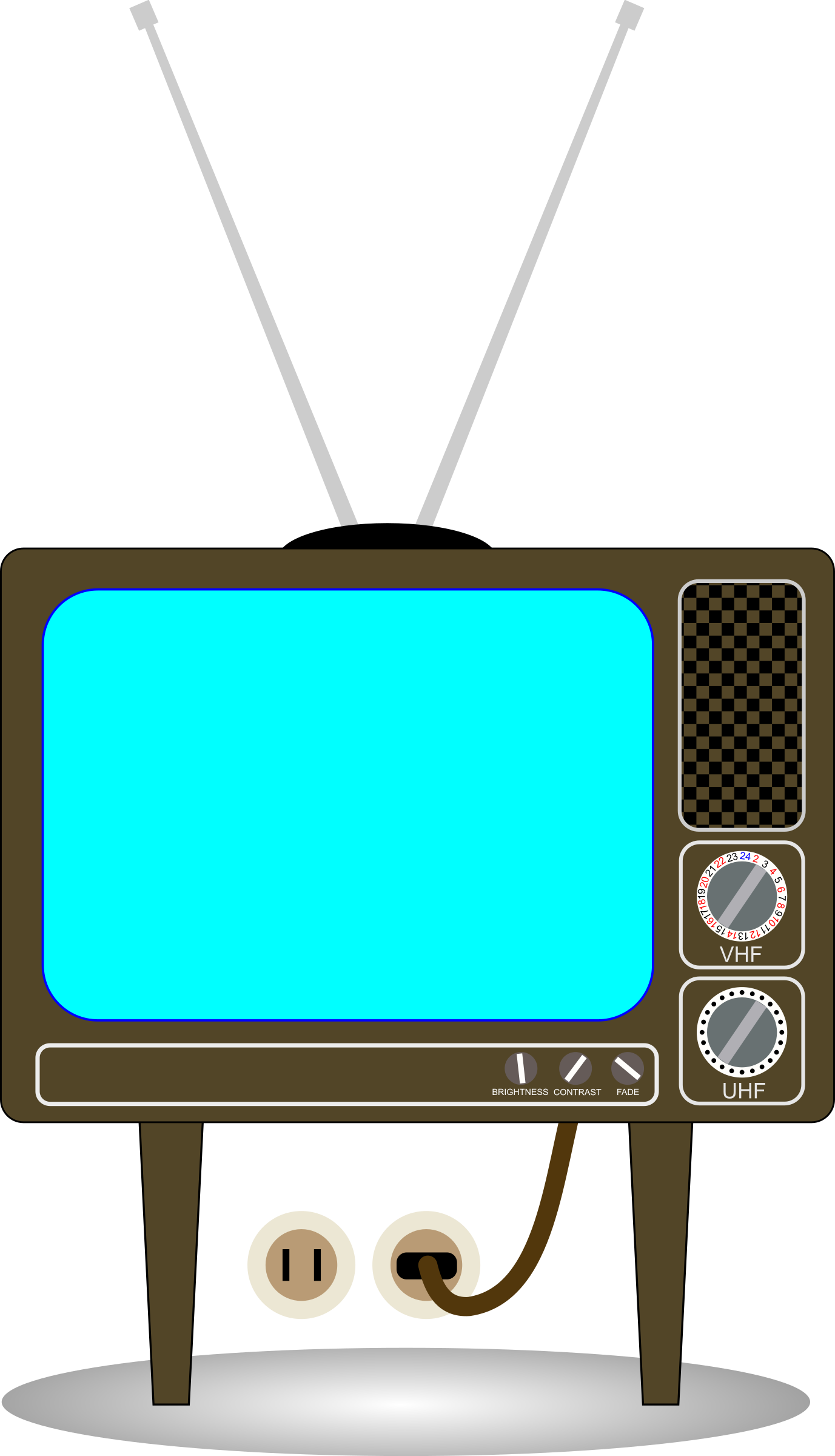 Old big image png. Clipart tv tv set