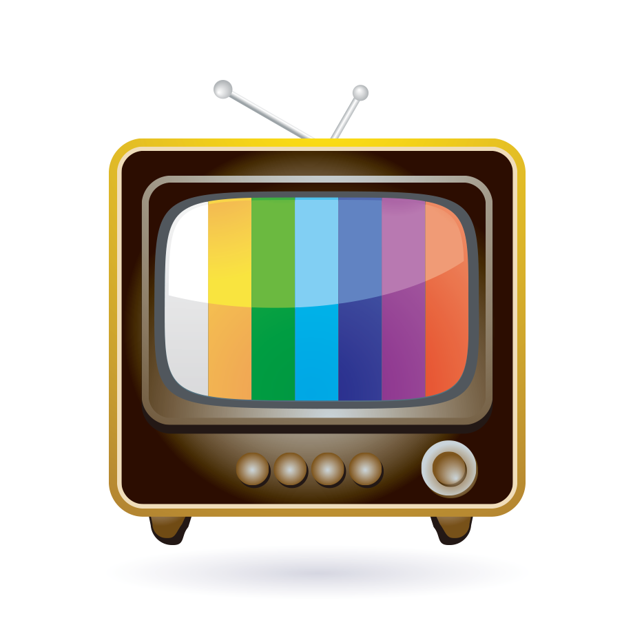 Television clipart square thing. Show icon tv transprent