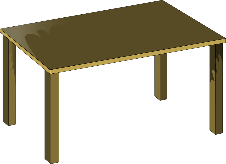 Clipart tv vector. Table brown frames illustrations