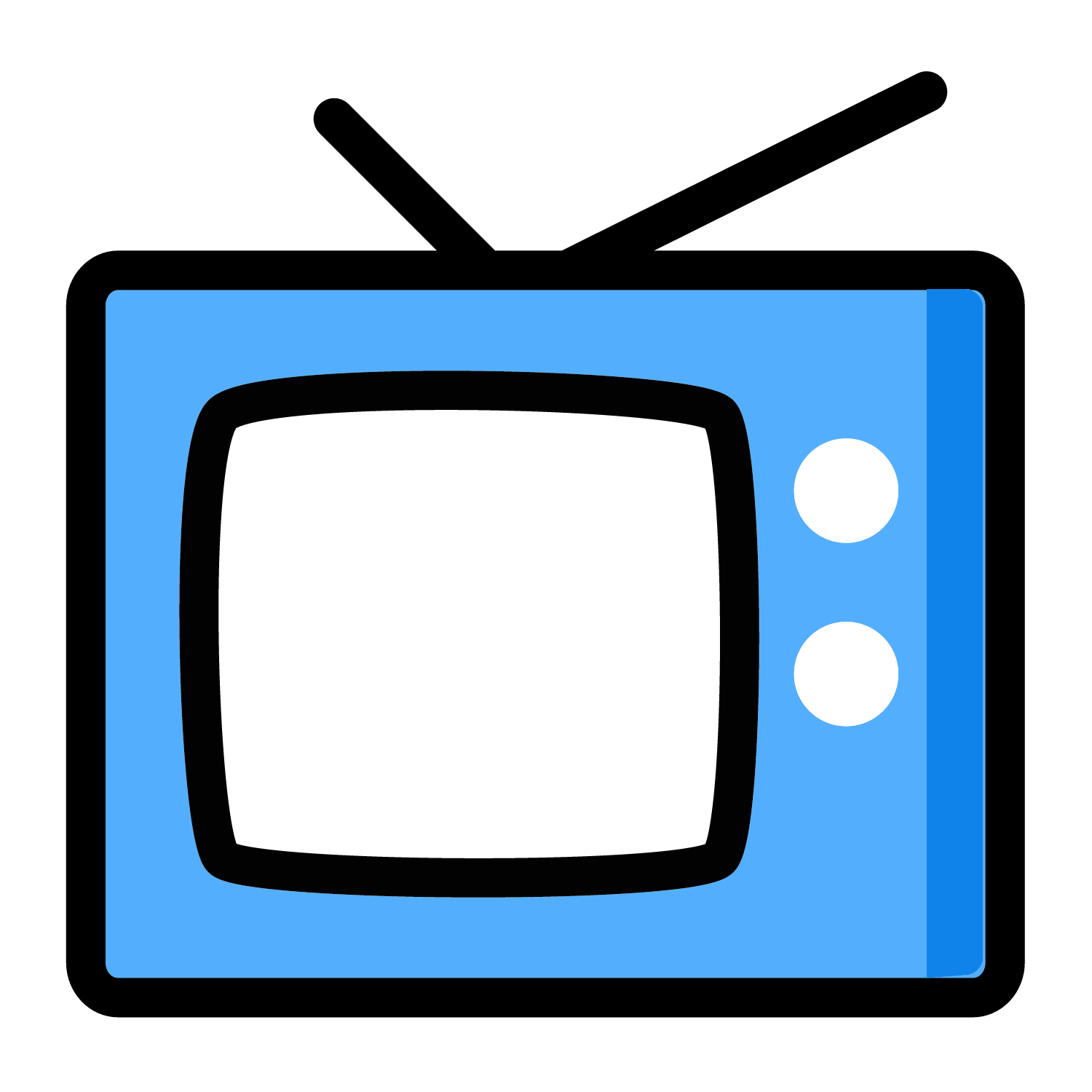 Television clipart tv broadcasting. China central color vector