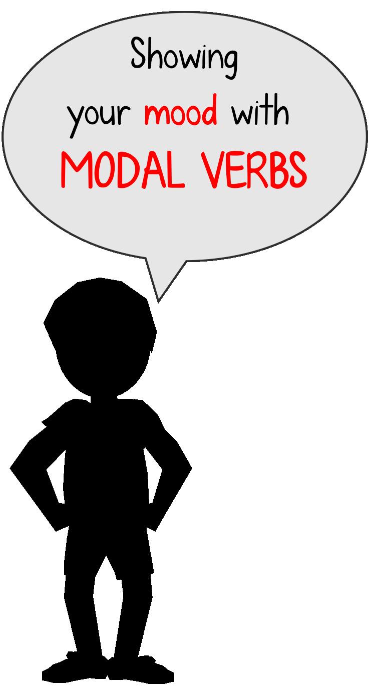 Modal verbs to describe. Young clipart adjective word