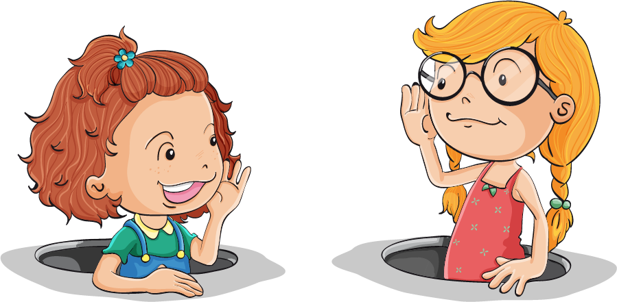 English clipart child. Learning vocabulary