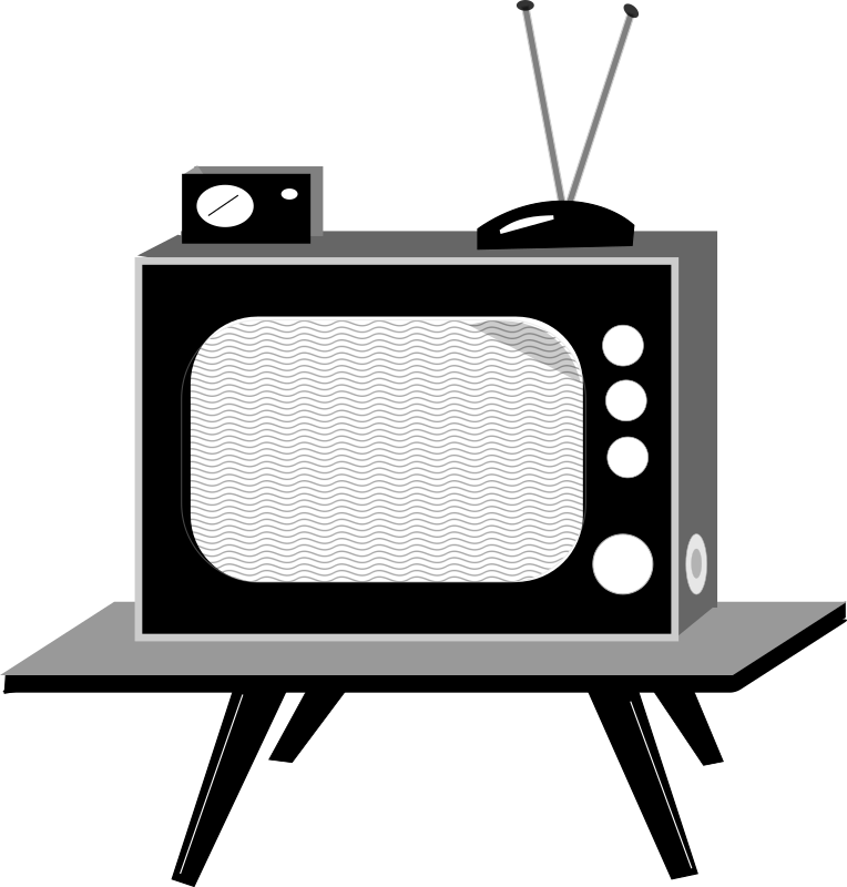 Television clip art background. Clipart tv wall tv