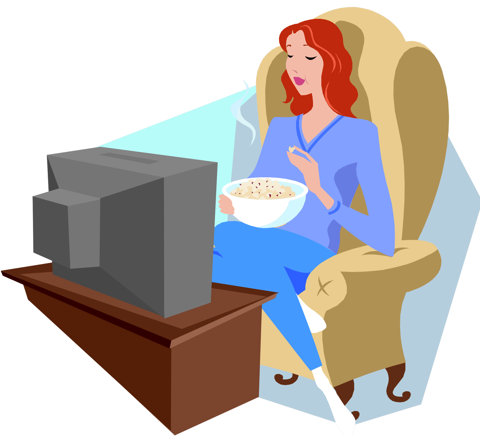 television clipart watch