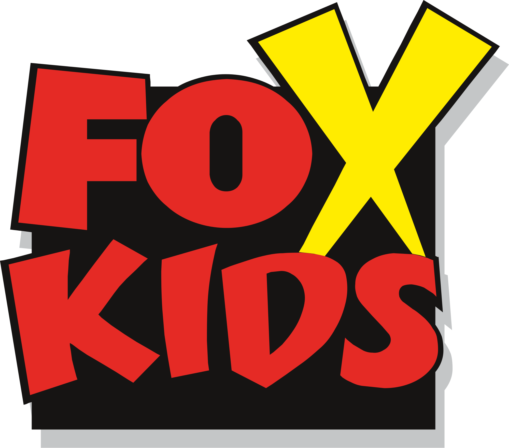 Fox kids wikipedia logosvg. Clipart tv world television day