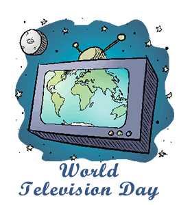 Us . Clipart tv world television day