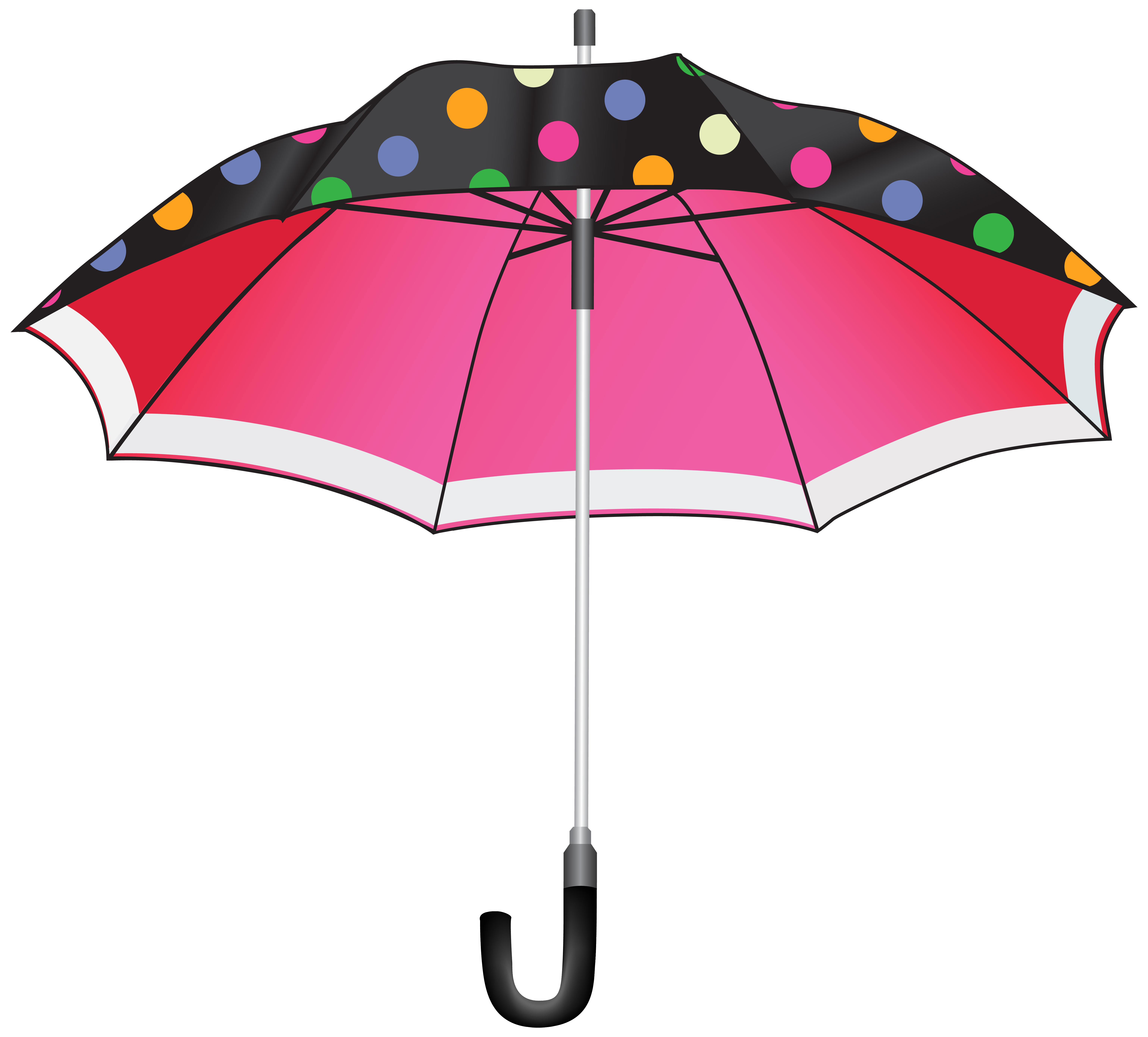 Clipart umbrella. Dotted png image gallery