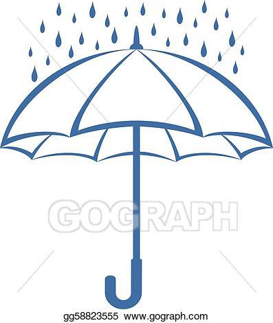 Umbrella clip art royalty. Blizzard clipart ocean storm