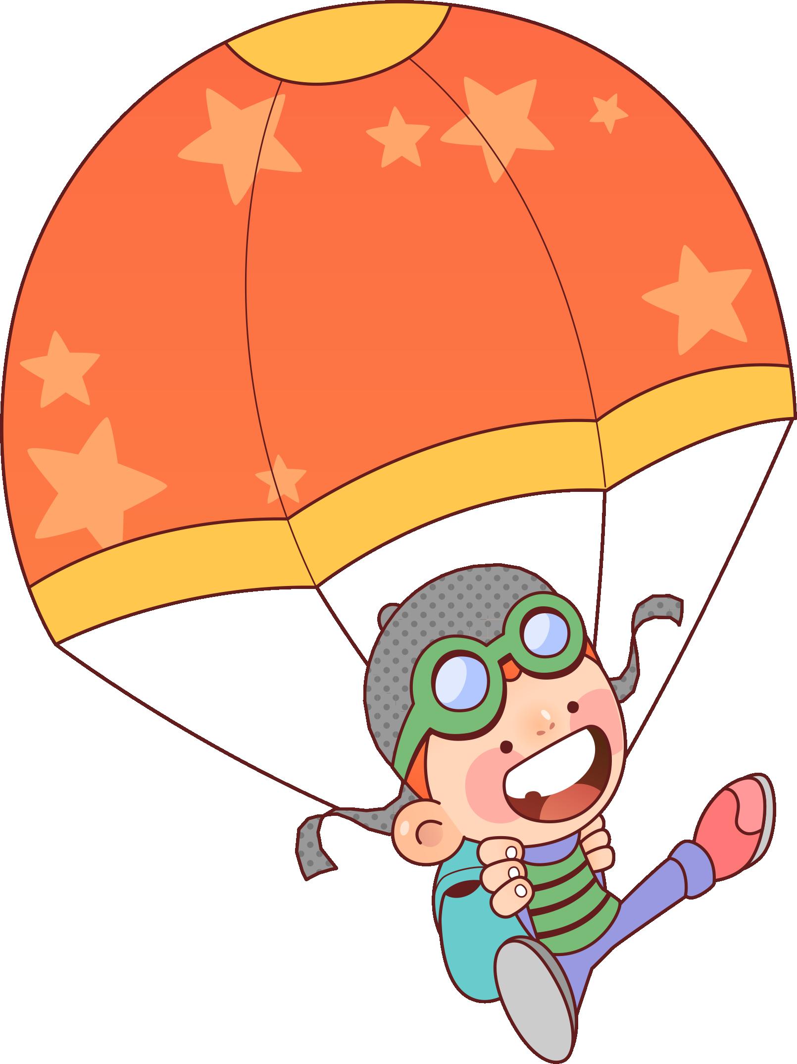 Картинки парашютисты для детей цветные, медсестра