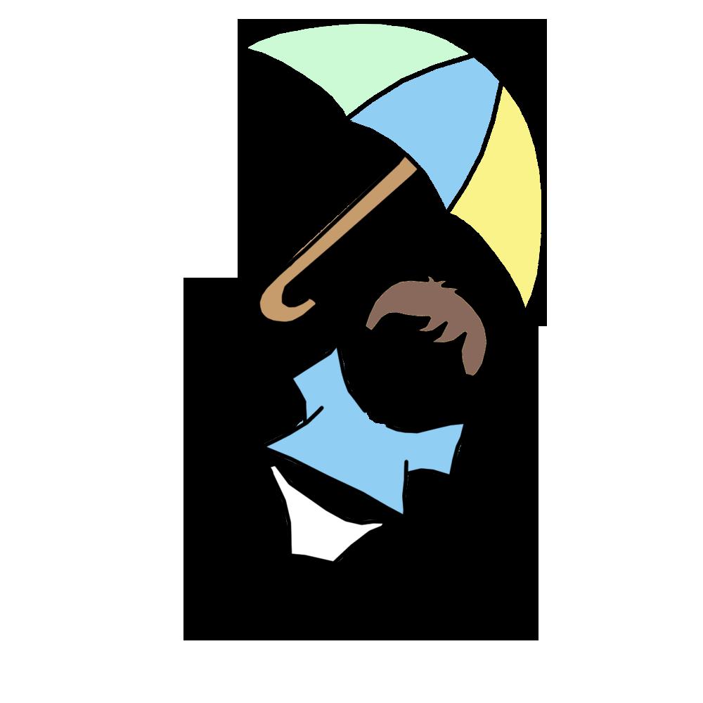 Shower invitation single with. Clipart umbrella baby boy