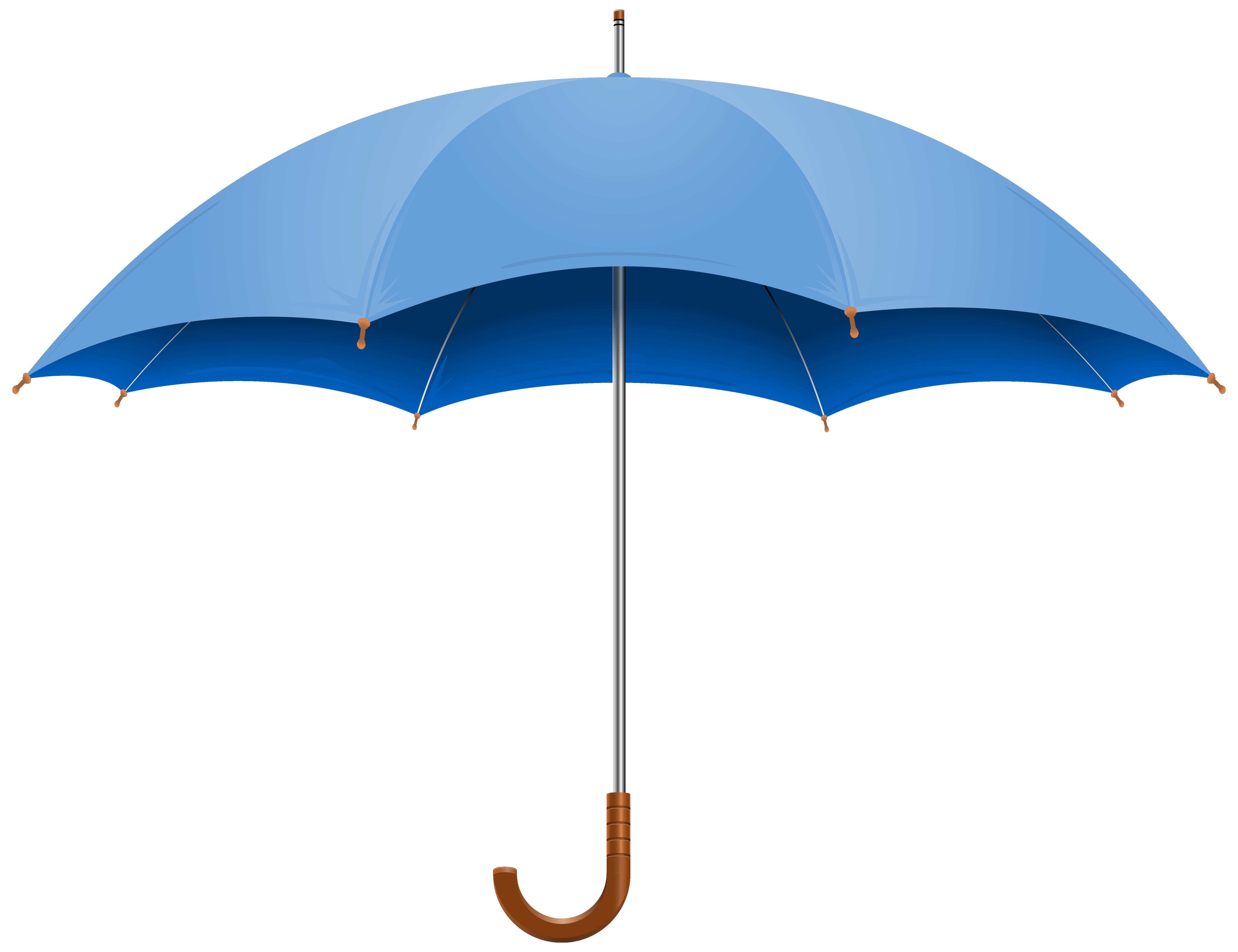 Blue open png image. Clipart umbrella banner