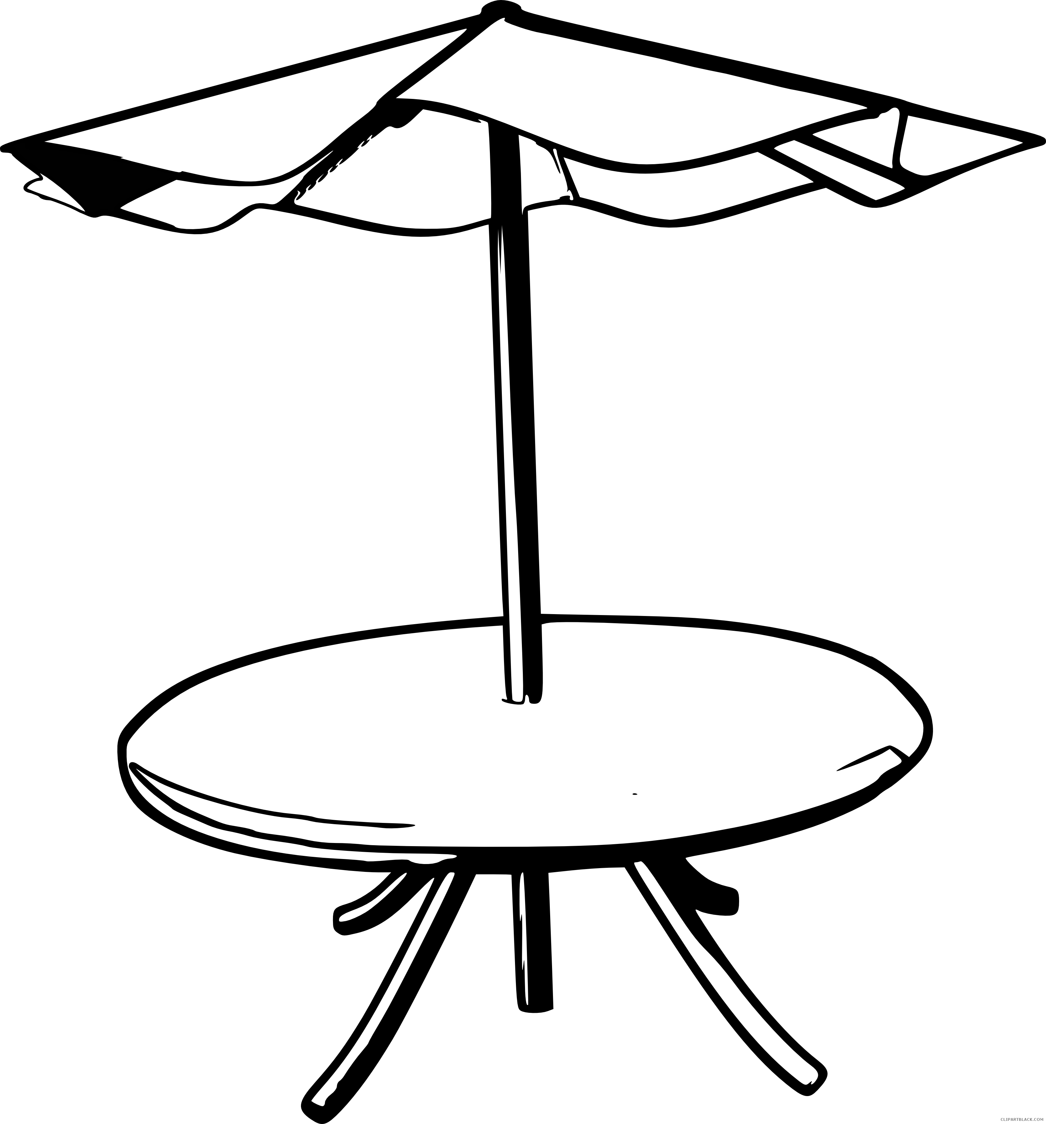 Clipart umbrella drawing. Black and white clipartblack