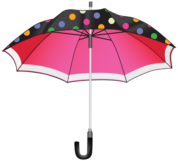 Clipart umbrella frame. Dotted png image gallery