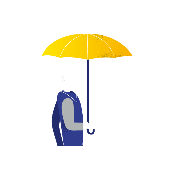 Step by join a. Clipart umbrella gambar