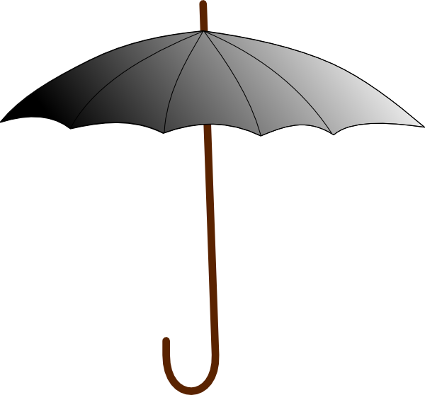 Boring clip art at. Clipart umbrella gambar