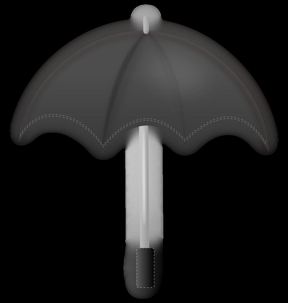 Clipart umbrella gray. Free stock photo illustration