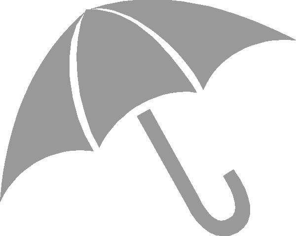 Clipart umbrella gray. Clip art at clker