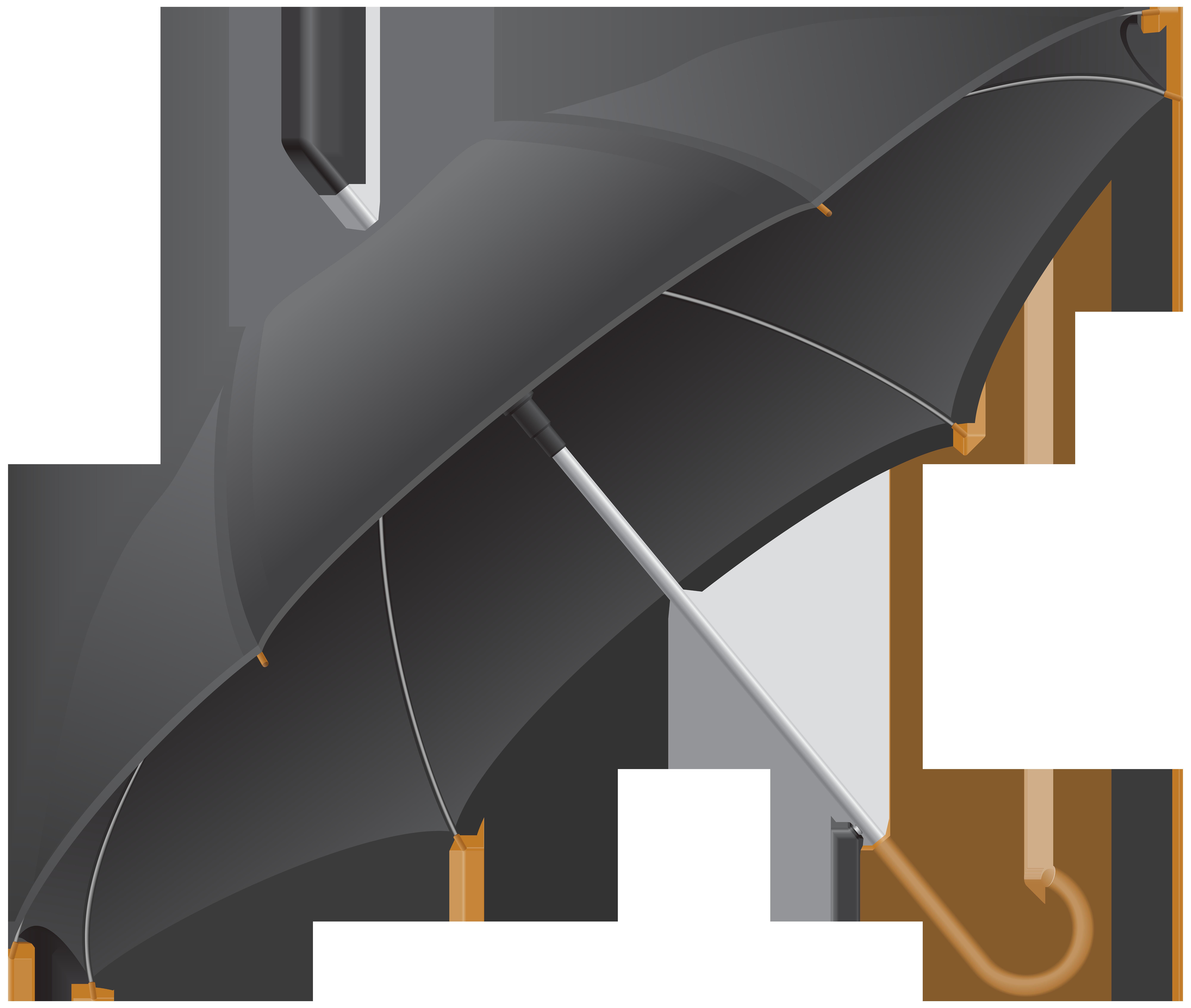 Clipart umbrella gray. Black transparent png clip