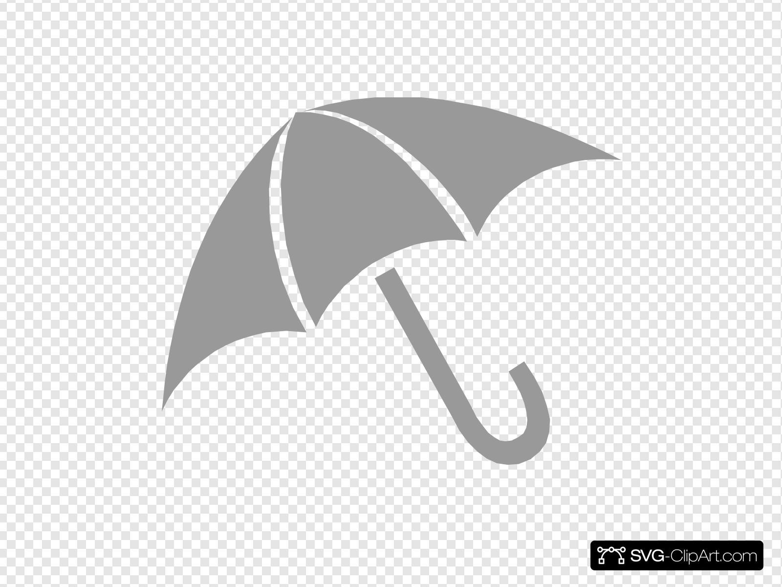Clipart umbrella gray. Clip art icon and