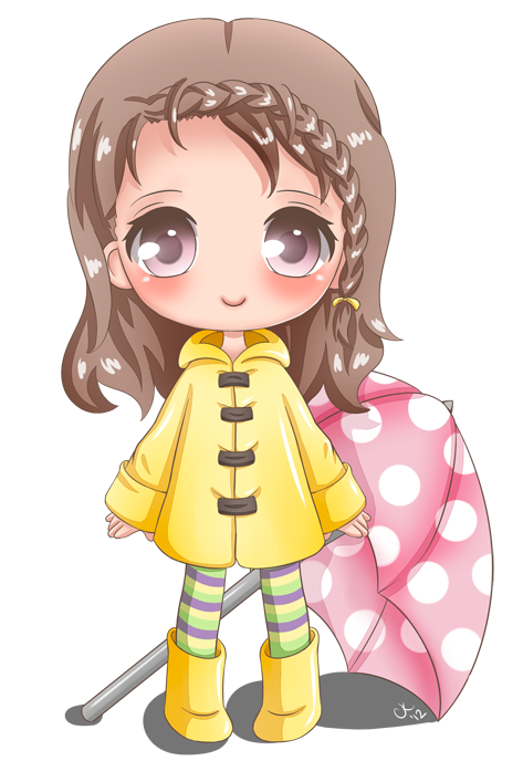 Clipart umbrella kawaii. Cupkik s profile picture