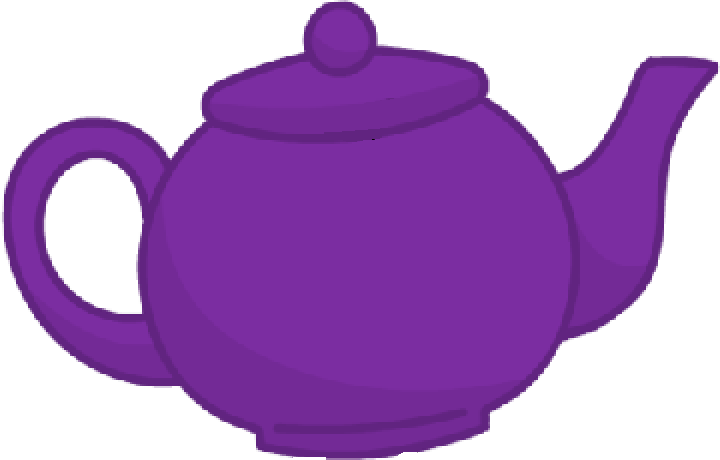 Image old body png. Purple clipart teapot