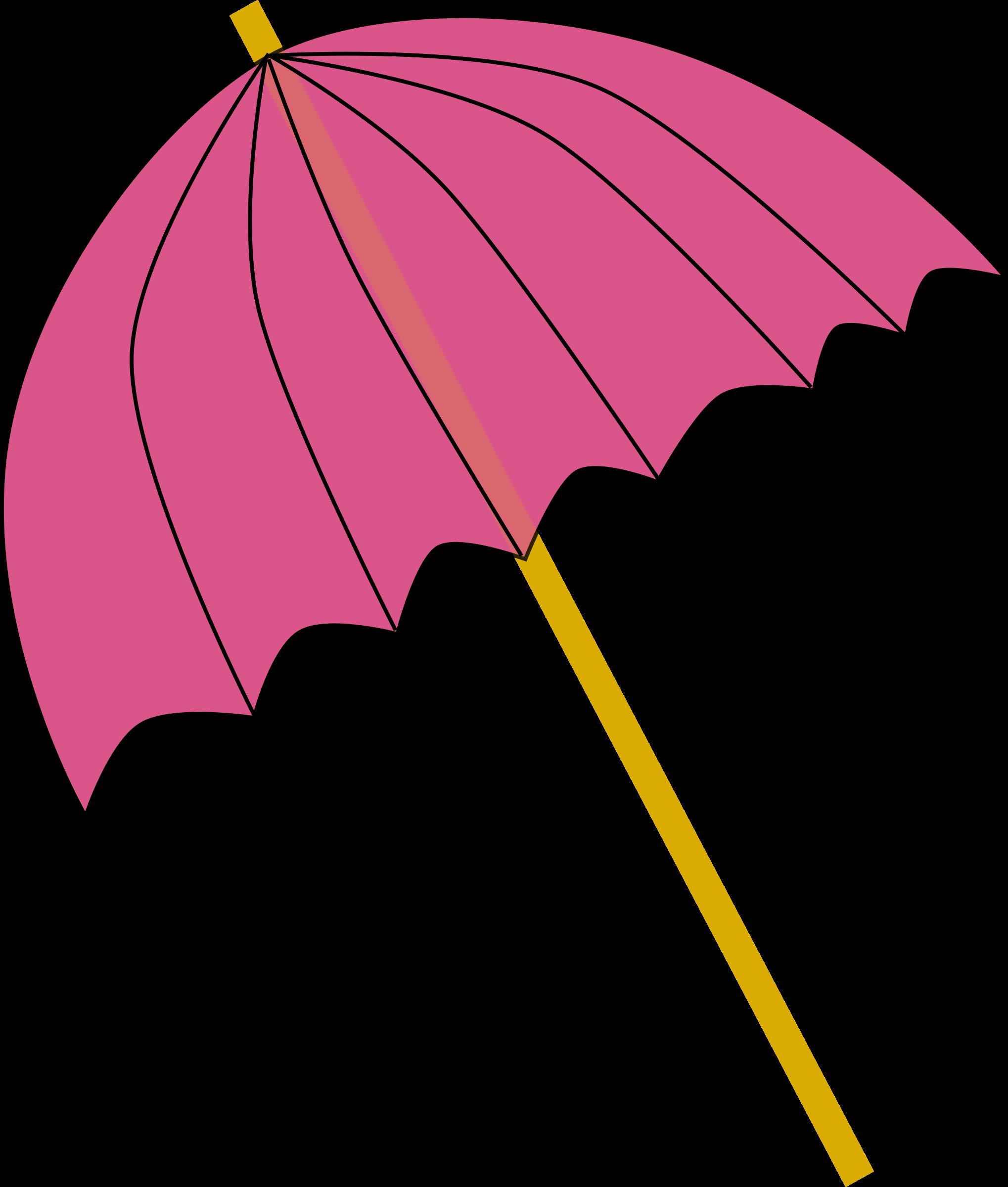 Wet clipart wet umbrella. Parasol pink tranparent big