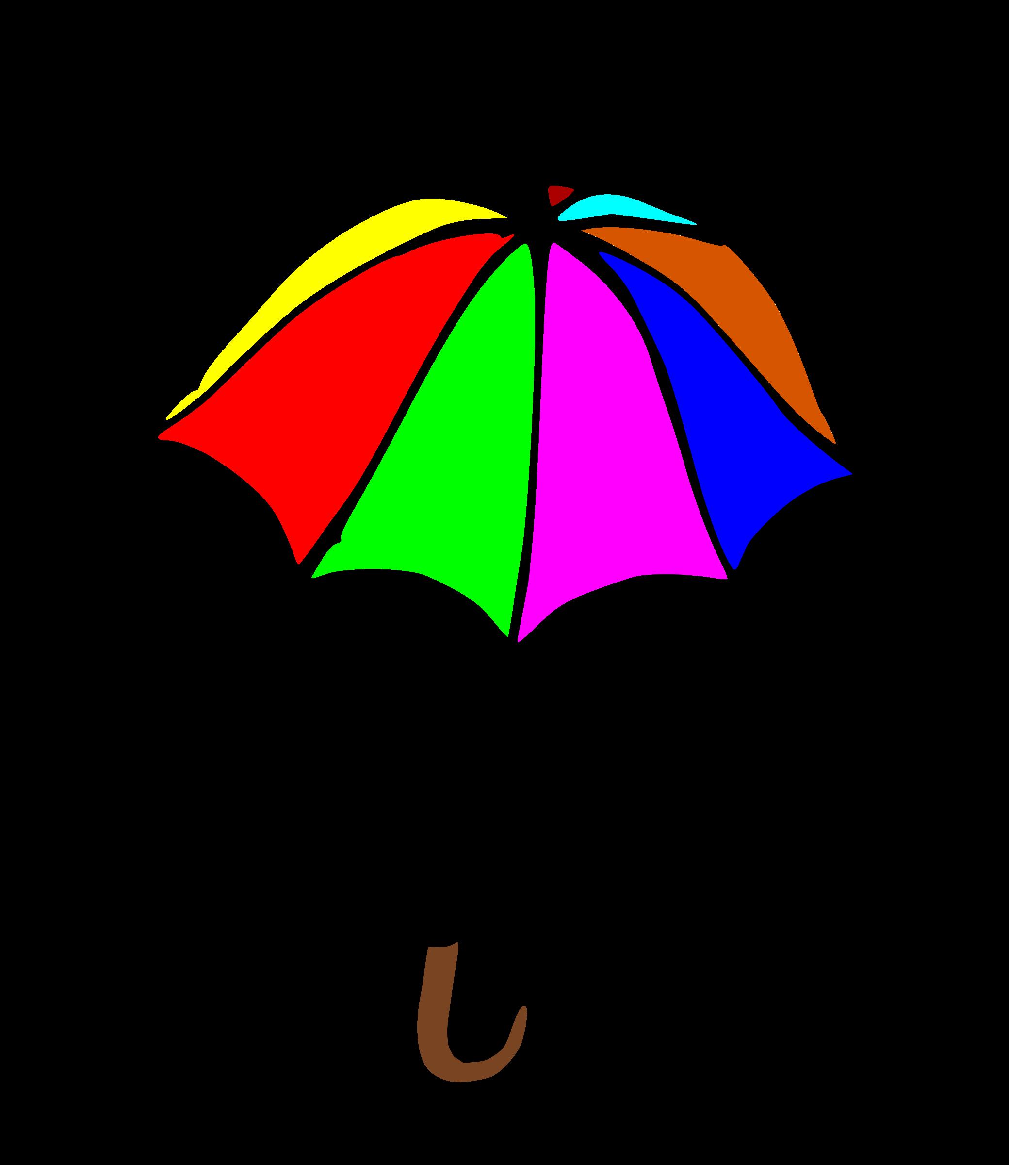 . Clipart umbrella many umbrella