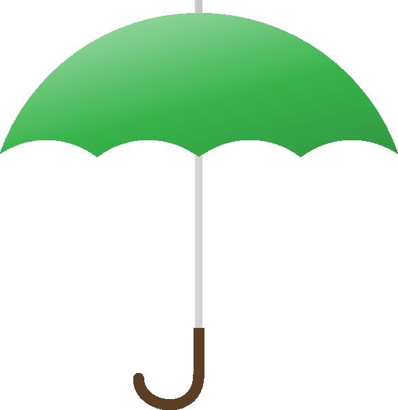 Clipart umbrella many umbrella. Green clip art at