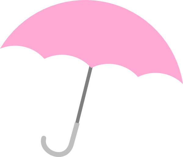 collection of free. Clipart umbrella pastel