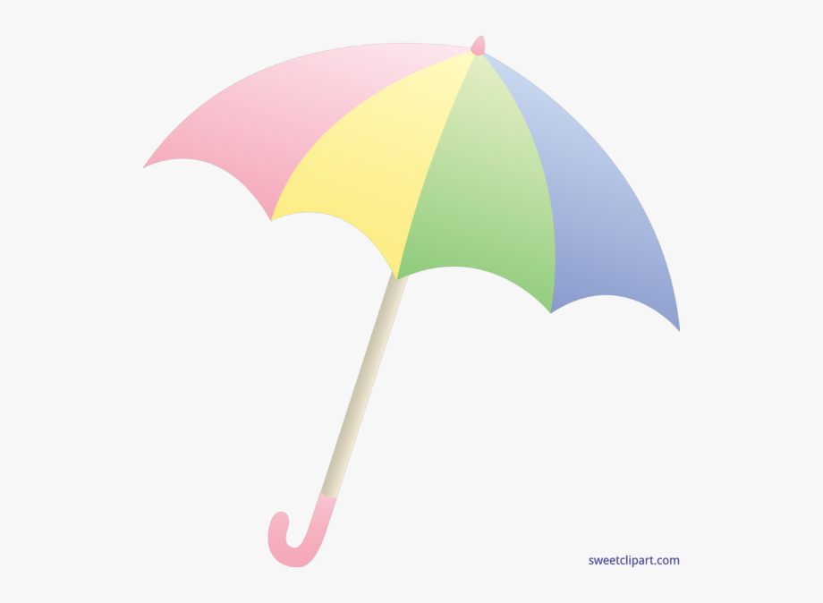 Sun cute transparent . Clipart umbrella pastel