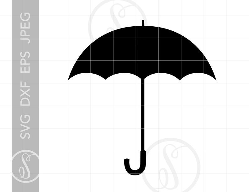 Svg downloads cut file. Clipart umbrella pdf