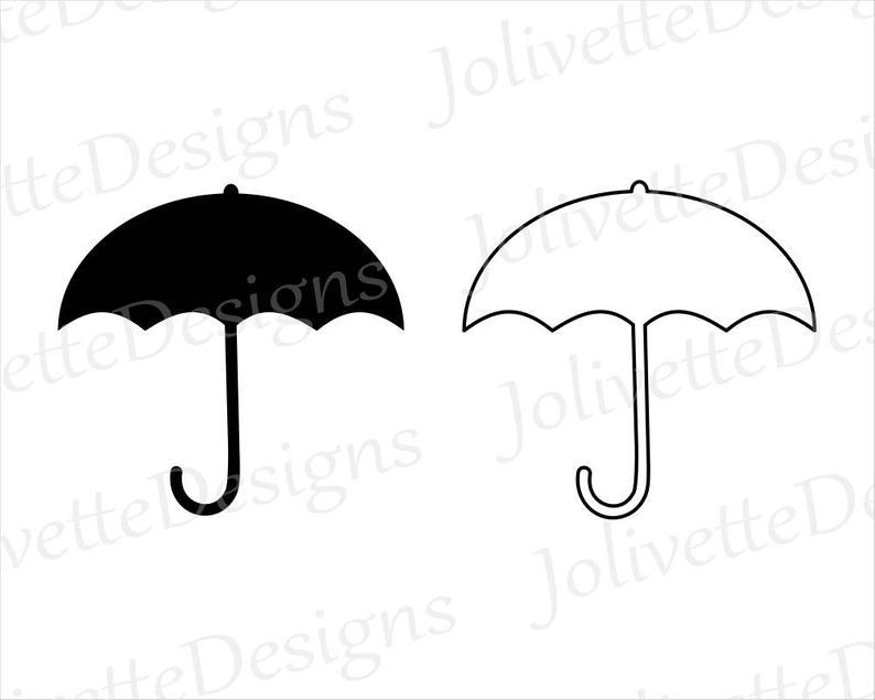 Clipart umbrella pdf. Umbrellas rain shade clip