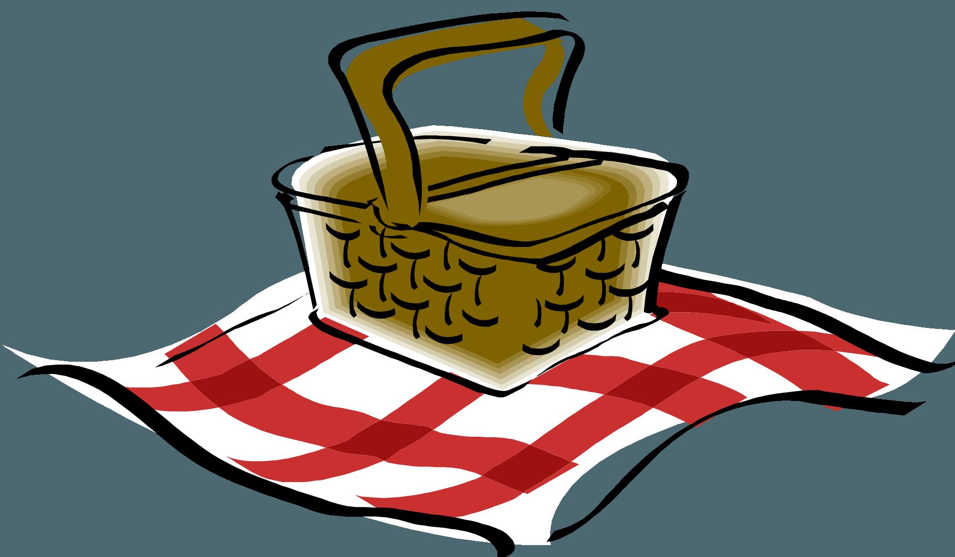 Picnic clipart june. Table clip art image