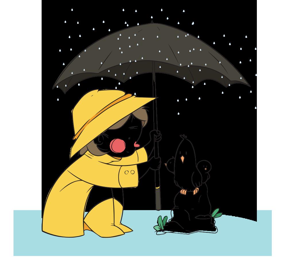 Clipart umbrella preschool. Oi playschool news letter