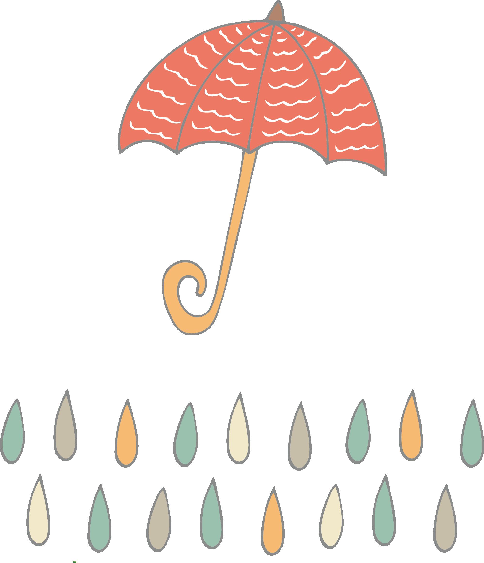 Clipart umbrella raindrops, Clipart umbrella raindrops ...
