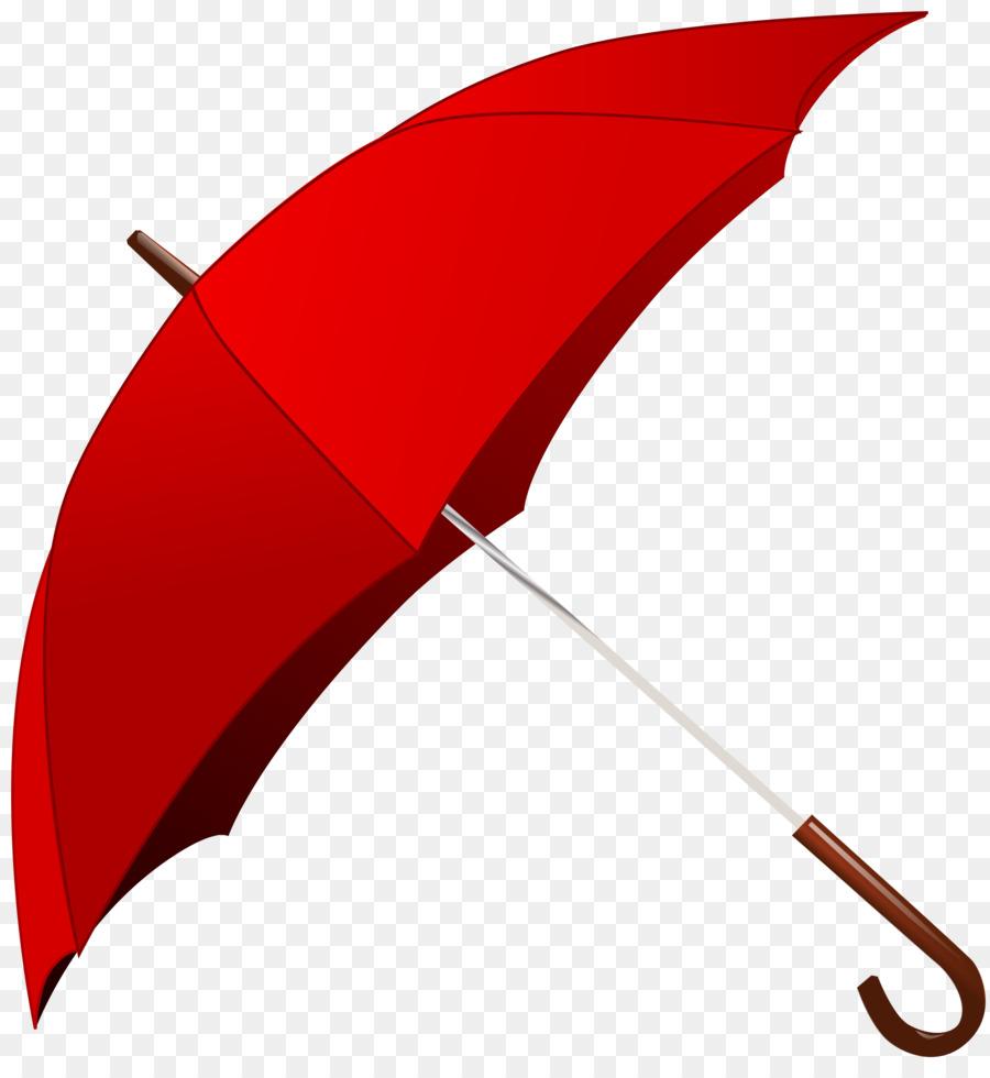 Clipart umbrella real. Cartoon red line transparent