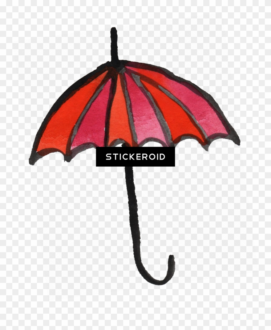 Clipart umbrella red object. Hd objects pinclipart