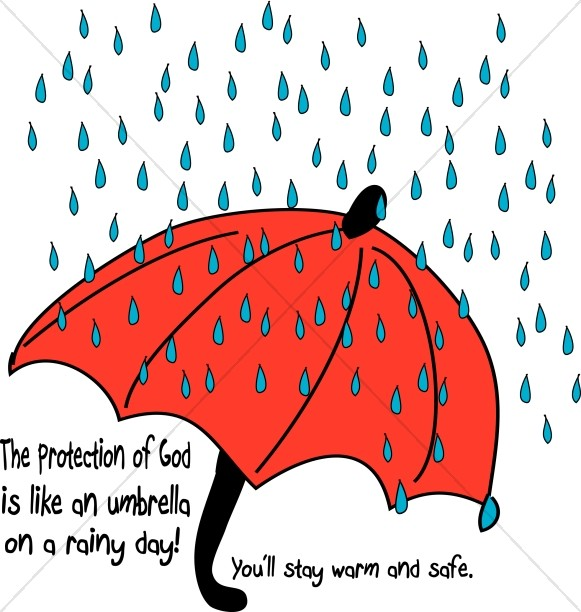 Of god sunday . Clipart umbrella school