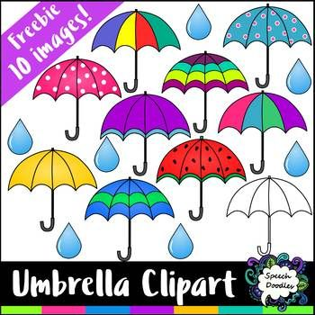 Free mini bundle images. Clipart umbrella school
