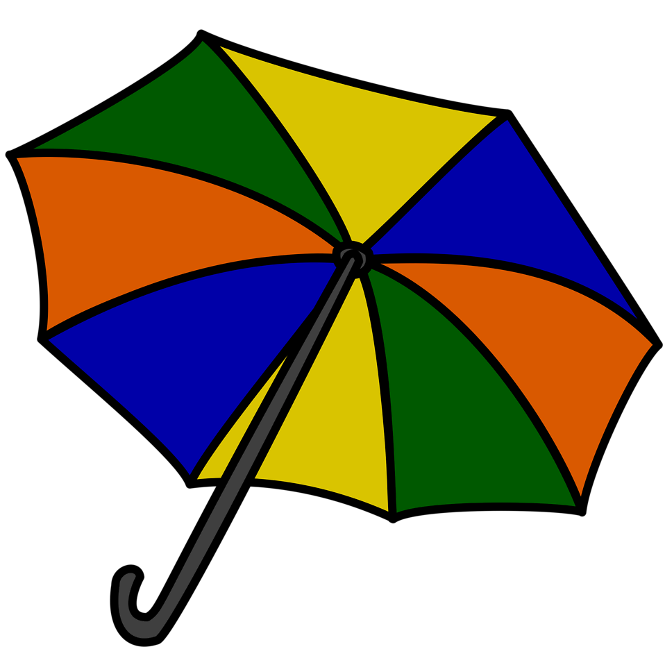 Clipart umbrella small umbrella. Free stock photo illustration
