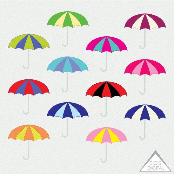 Umbrellas summer spring . Clipart umbrella small umbrella