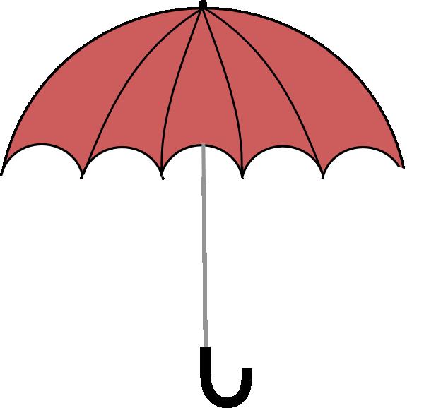 Clip art at clker. Clipart umbrella spring