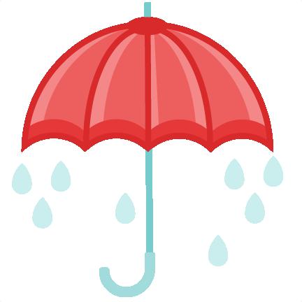 Clipart umbrella spring. Clip art image clipartcow