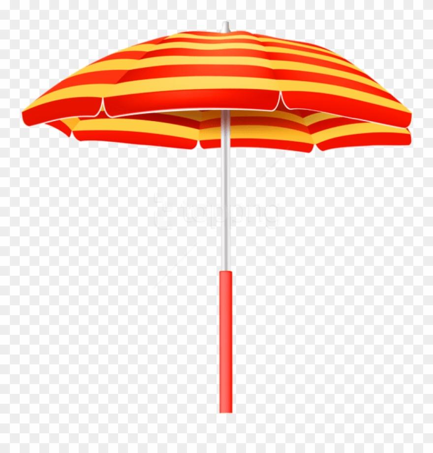 Clipart umbrella striped umbrella. Free png download beach