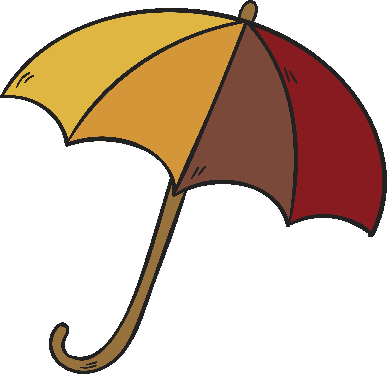 Clip art hand drawn. Clipart umbrella striped umbrella
