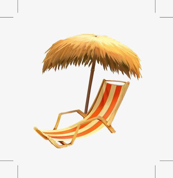 Clipart umbrella summer hat. Png beach chair block