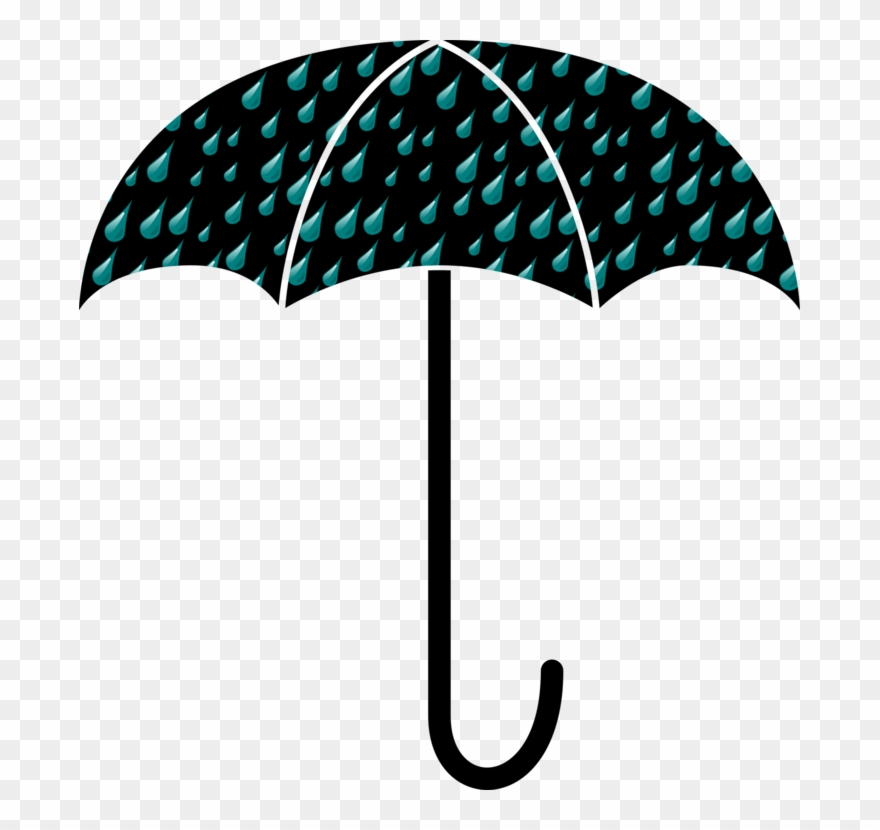 Clipart umbrella teal. Drawing silhouette clothing document