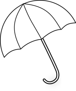 Clip art days may. Clipart umbrella template